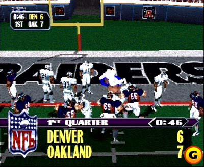 NFL Blitz's arcade fun came to the PlayStation in 1998.