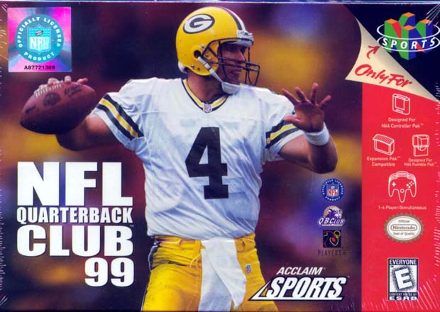 Green Bay's Brett Favre was a fixture on the series for almost its entirety.