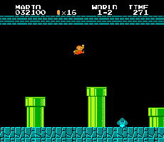 Super Mario Bros. took jumping to a whole new level.