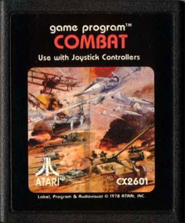 If you owned an Atari 2600, this should be a familiar sight.