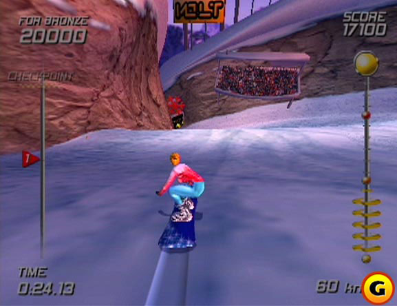 SSX made snowboarding really cool. Ha ha, get it?