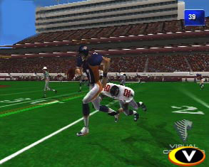 Unlike many console-launch sports games, NFL 2K was a very refined game from the start.