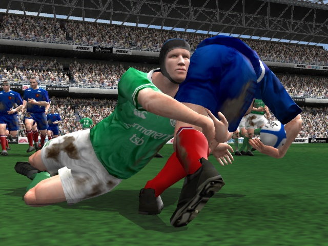 Bloody is funny and pads are for wimps. Hit the pitch in the latest rugby game from EA Sports.
