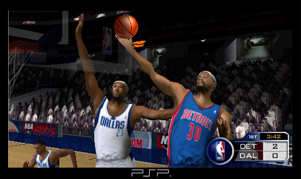 NBA for the PSP is a full-featured title, especially for a launch game.