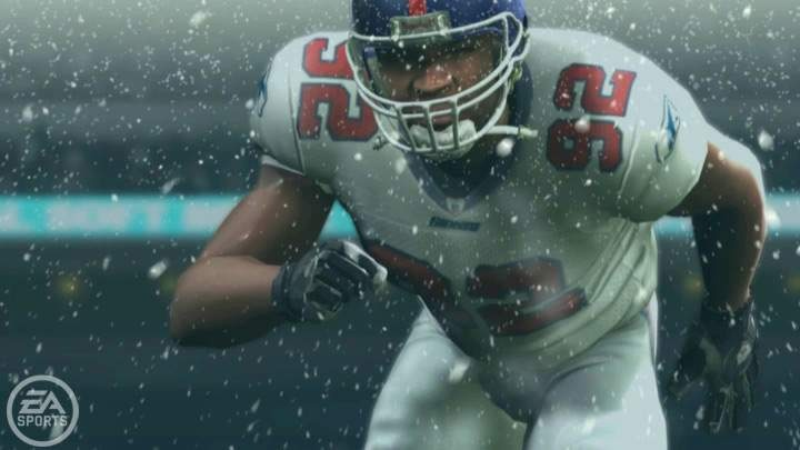 This isn't actual in-game footage, but Michael Strahan still looks scary.
