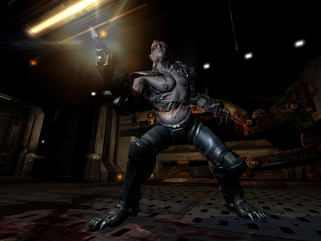Xbox 360 promises Quake 4 with no graphical compromises.