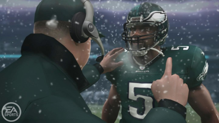 Will digital McNabb also get sick on the field during the Super Bowl?
