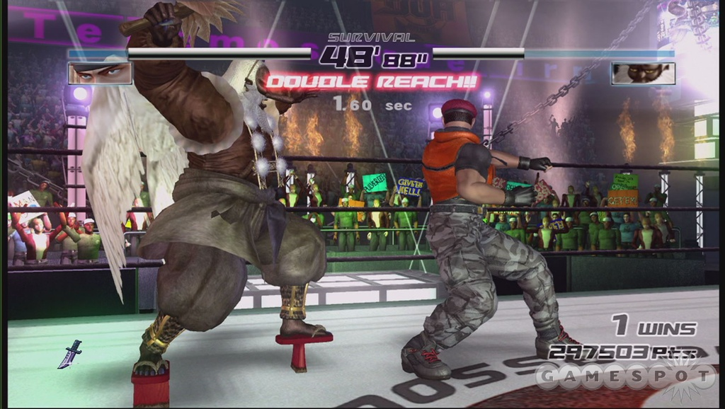 Challenging artificial intelligence and a good number of offline modes give DOA4 some real lasting value even when playing solo.