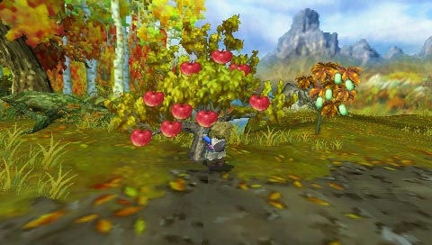 Looking for something to do? Try wandering around the wilderness harvesting fruit.