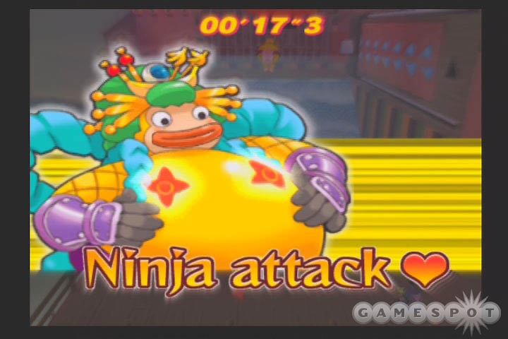 Nothing like the occasional sumo ninja monkey to break up the daily grind.