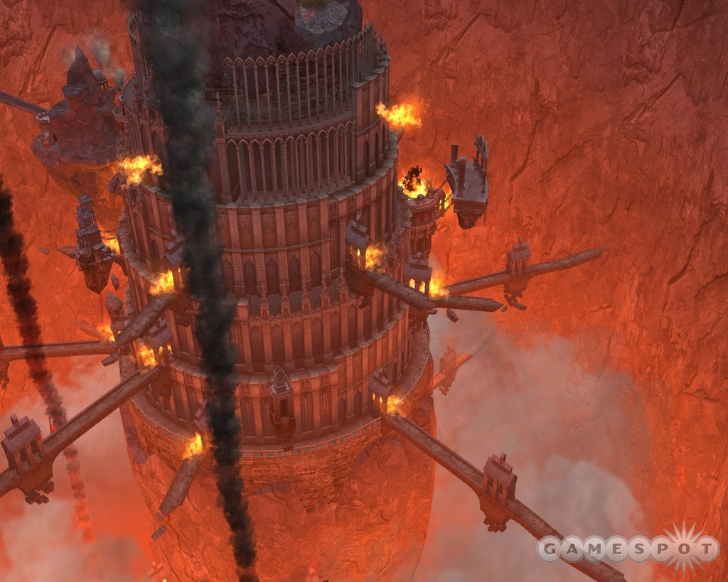 The fiery denizens of the 'inferno' town return for a new adventure.