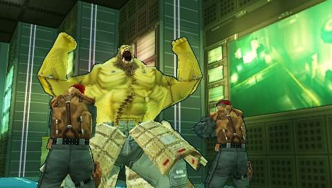 The boss fights are frequent and fantastic in Metal Gear Acid 2.