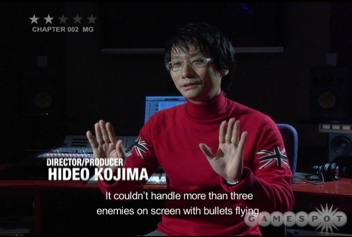 Peek inside the peculiar genius of Hideo Kojima as he gives you a behind-the-scenes look at his beloved series.