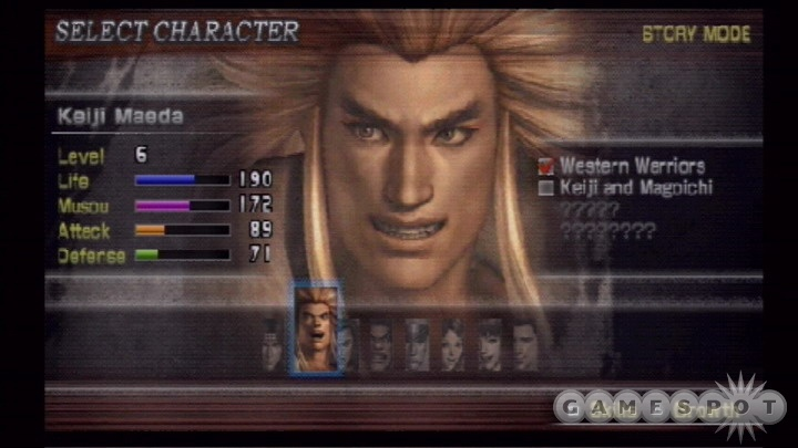 The playable characters' attributes are as varied as their appearances.