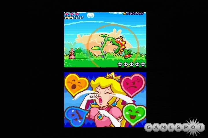 Just because she's a girl shouldn't mean Peach can't handle more of a challenge.