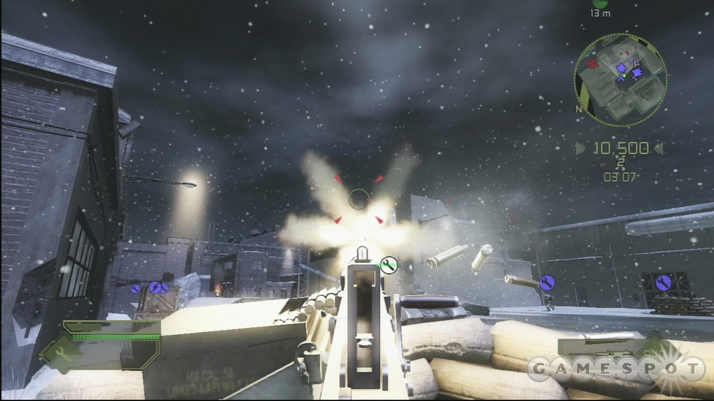 Modern Combat's graphics have been given a nice facelift for the Xbox 360.