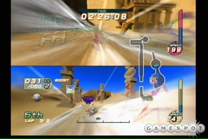 Sonic Riders is far from the worst company mascot character racer you'll ever play, but that doesn't really say an awful lot for it.