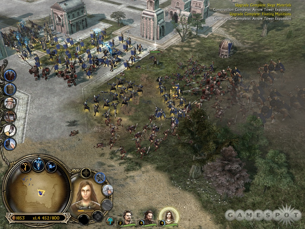 Battle for Middle-earth II features new battles in both the north and south of Middle-earth. The original game focused just on the latter.