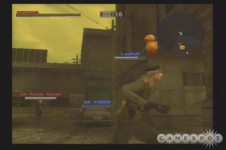 Metal Gear Online is fast paced and exciting, combining multiplayer shooter standards with Metal Gear mechanics and characters.