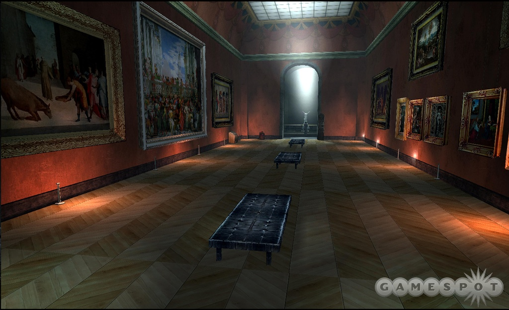Travel to new locations and expand on existing events in the video game version of The Da Vinci Code.