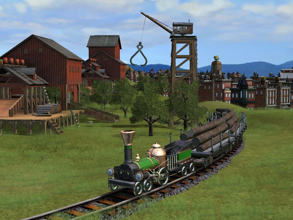 Sixteen years after Railroad Tycoon, Sid Meier's doing another railroad game.