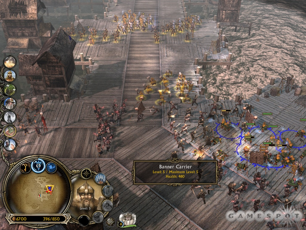 You'll encounter reinforcements along the docks but they're usually under attack. Help these Phalanxes!