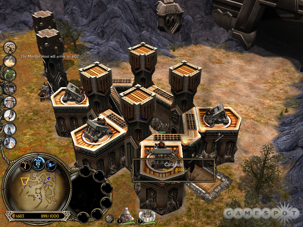 A Fortress loaded with emplacements...and towers...and walls...and powers. You'll need them all to repel the vicious assaults.