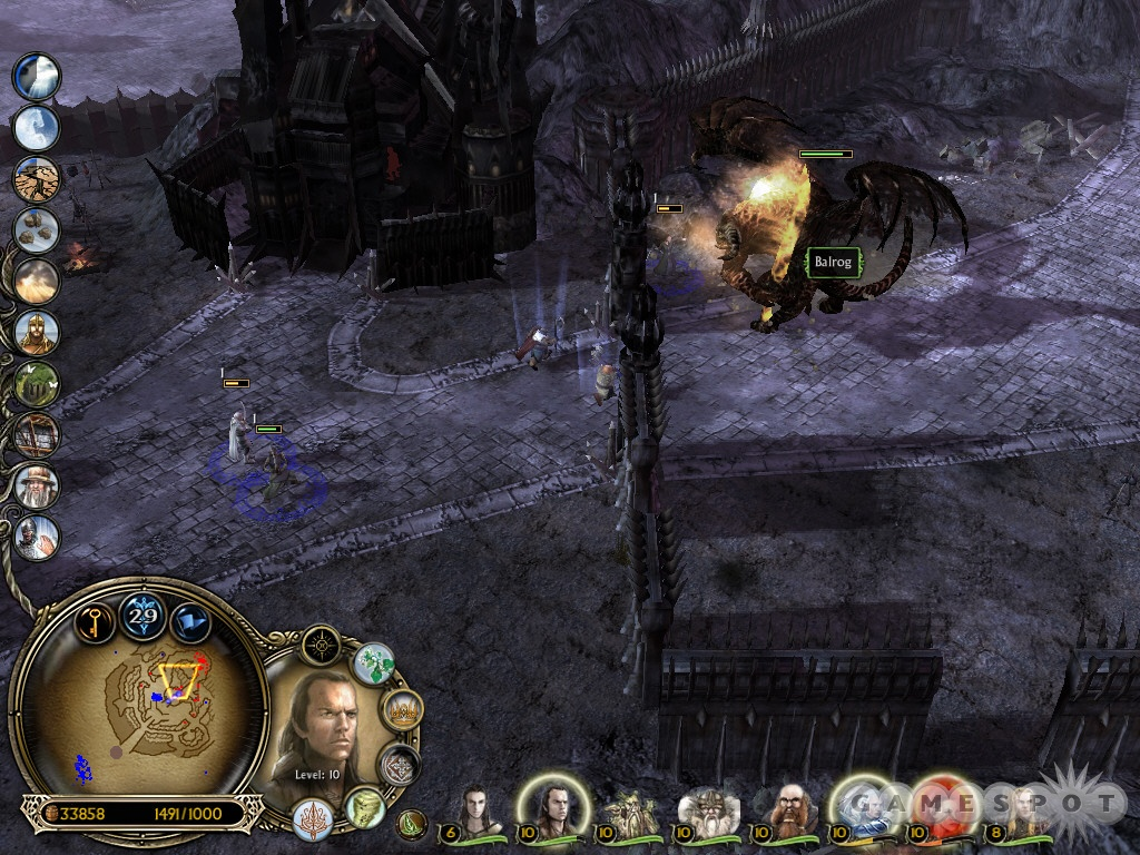 Beware of the Balrog lurking in the middle of Dol Guldur.