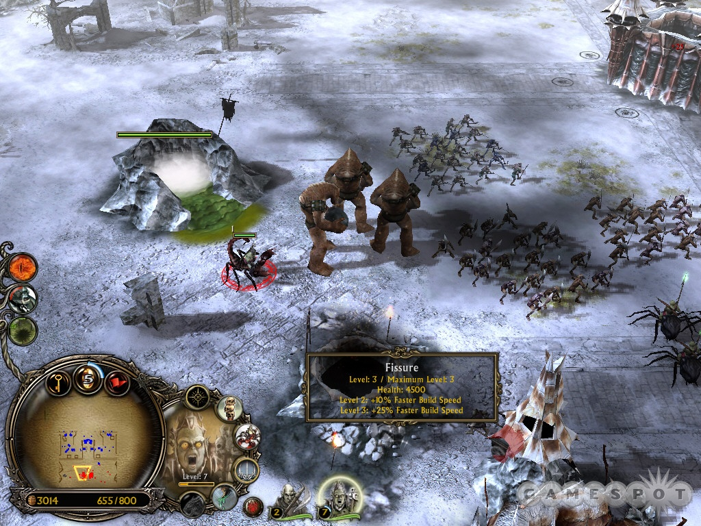 Take your time in the southern corner of the map. The enemy's attacks are easy to defend while you create a formidable army.