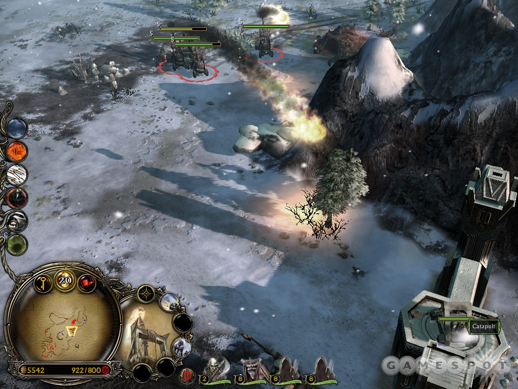 This squad of catapults can make quick work of enemy walls, towers, and defensive emplacements.