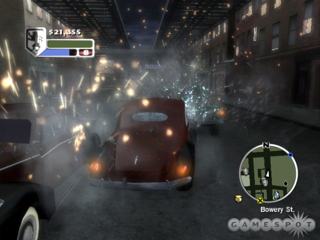 This game borrows heavily from GTA, but that isn't necessarily a bad thing.