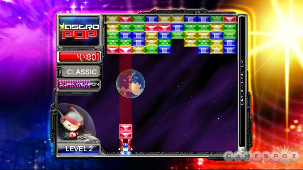 Astropop offers solidly addictive puzzle action.