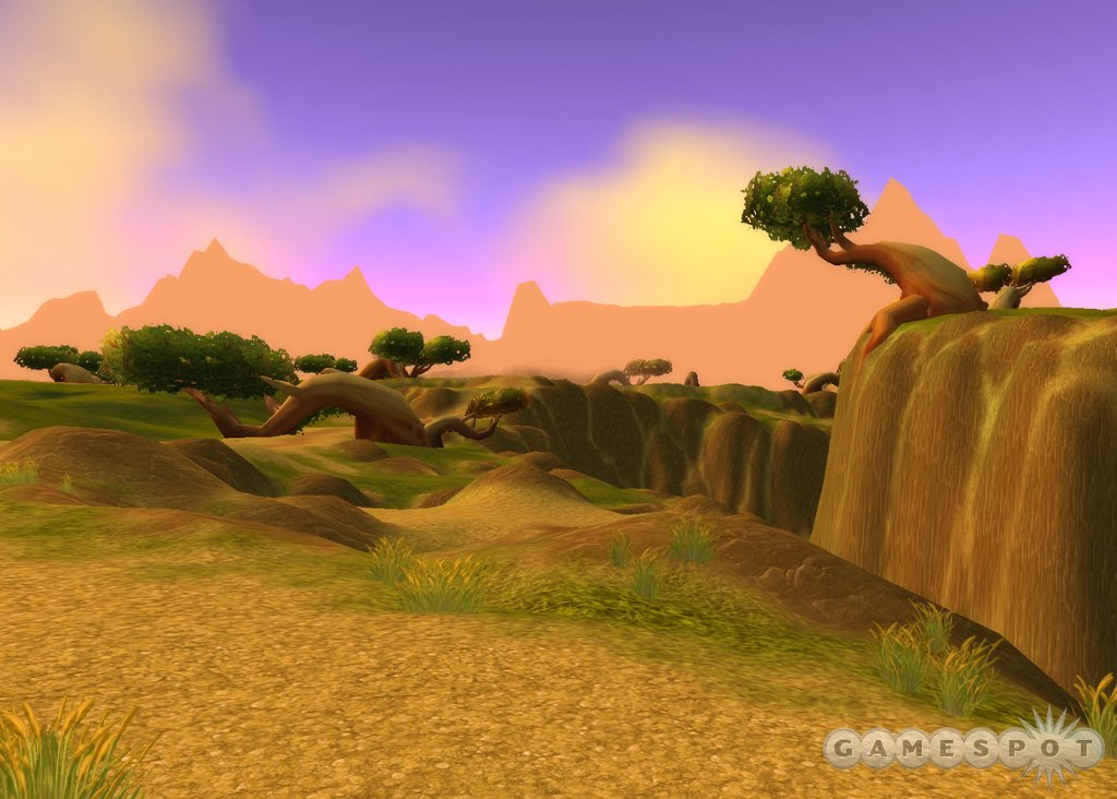 Behold the cliffs of Nagrand.