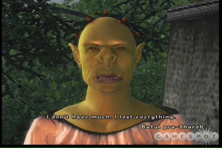 If you choose to be an Orc, you'll pay the price, literally; merchants will charge you more than they will other characters.