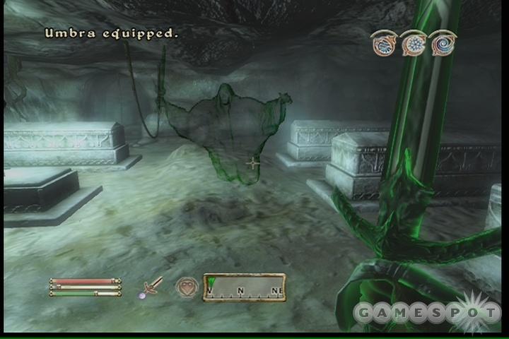 Umbra does a supreme amount of damage, besides having a Soul Trap enchantment.
