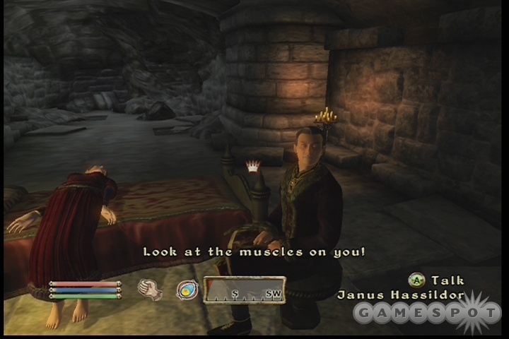 Um, thanks, Janus...but that's kind of inappropriate at the moment, don't you think?