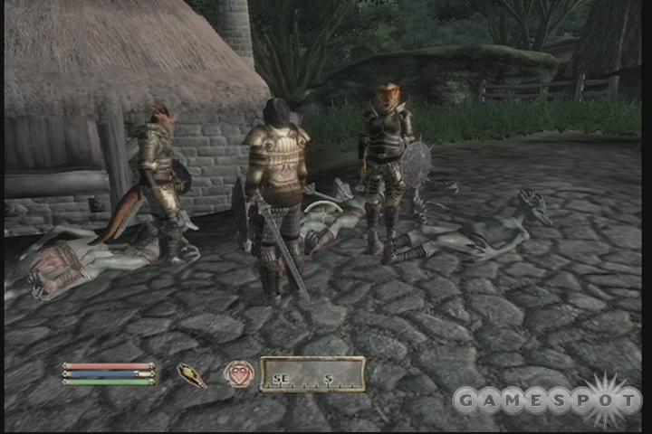 Wait a minute...goblins don't attack villages....