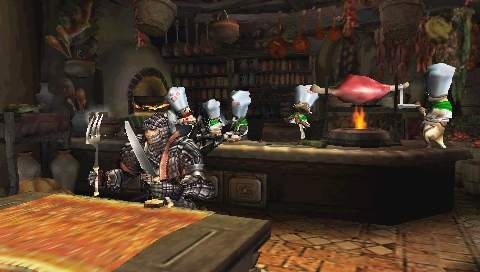 It's like Phantasy Star Online meets Turok, but with a bizarre race of cat people.