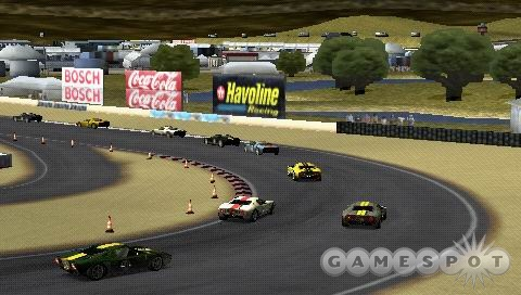 Laguna Seca is one of over 60 circuits featured in the game.