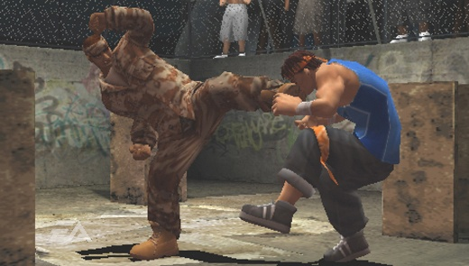 The gritty atmosphere and smooth fighting animations make this one of the best looking PSP games out there.