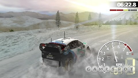 There's lots of different terrain to drive on, and the environments are excellent looking.