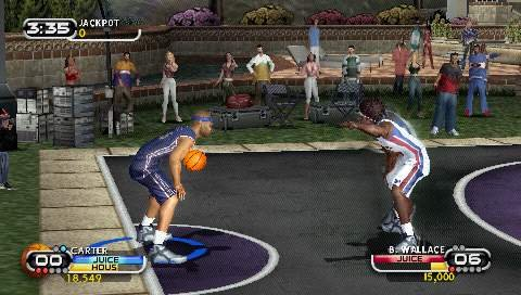 All the rim-rattling, ankle-breaking action you enjoyed from the original game is distilled into a portable format.
