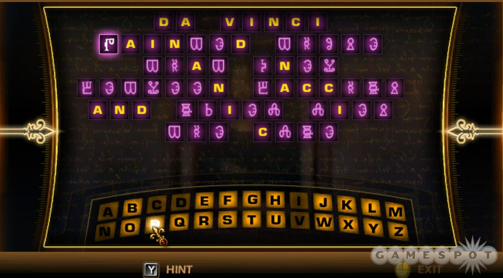 If you like riddles and anagrams, you'll find some good ones in this game.