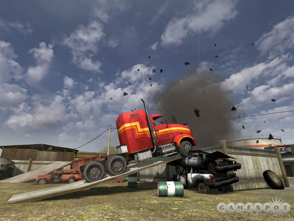 Does this mean that we'll finally be able to drive big rigs in combat?