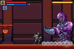 Boss battles are fun, like here, where the X-Men are fighting a half-completed Sentinel.