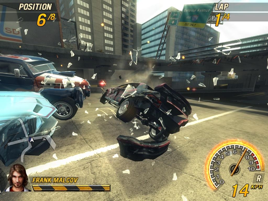Massive automotive destruction returns in Bugbear's FlatOut 2.