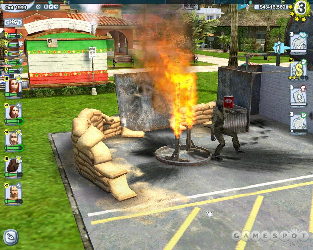 Stunts & Effects will raise your level of moviemaking by adding exciting new elements to The Movies, such as burning buildings.