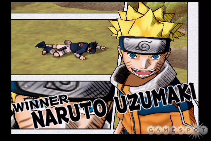 Naruto makes a strong first impression in his American PS2 debut.