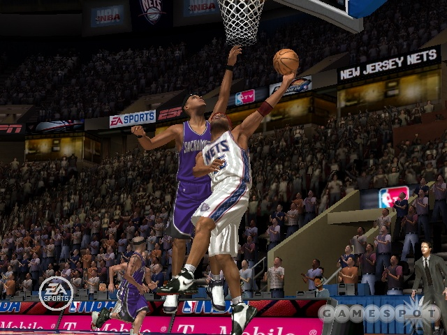 Vince Carter posterizing yet another hapless victim.