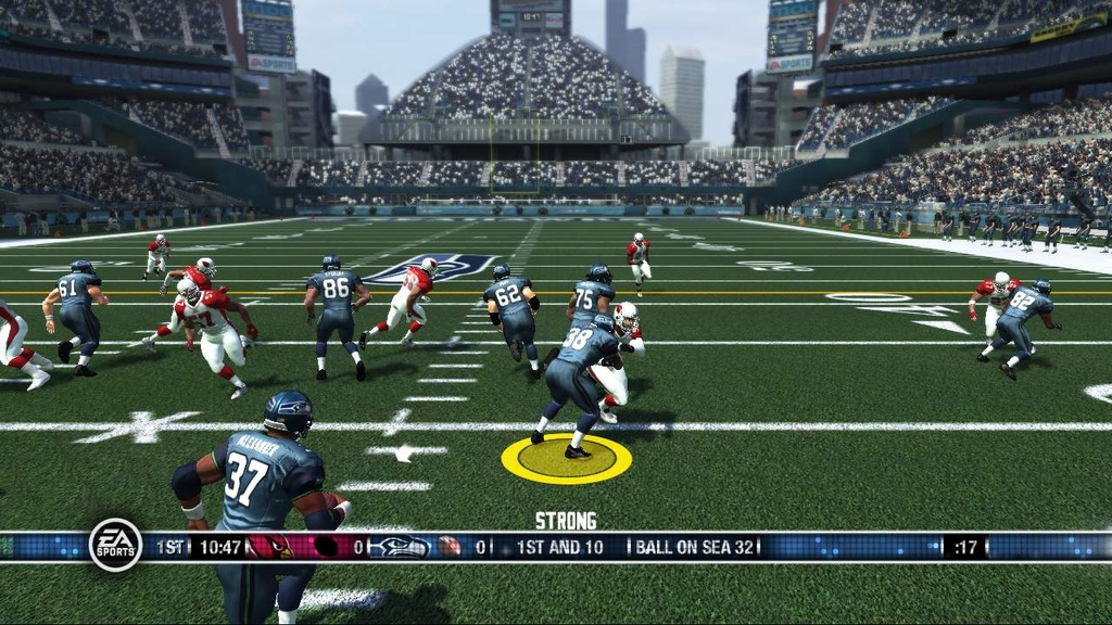 Lead blocker controls sound kind of weird on paper, but really do add a nice new dimension to the running game.